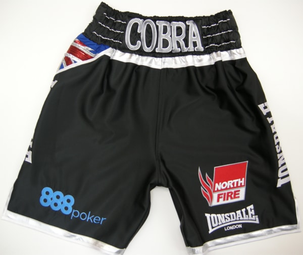 Carl Froch Handmade Boxing Shorts