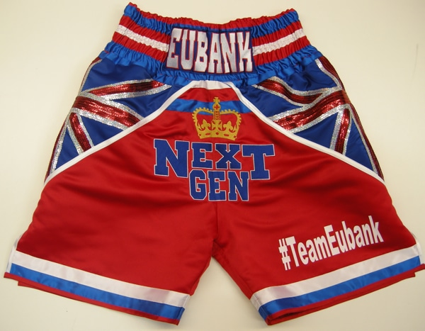 Eubank Sheffield Boxing Trunks