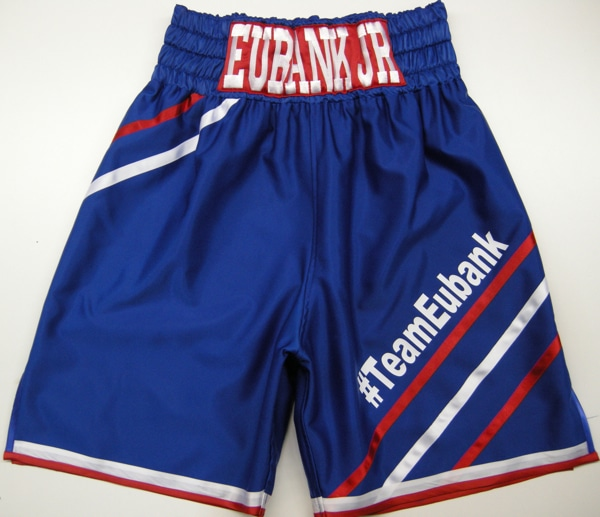Eubank Jr Blue Boxing Shorts