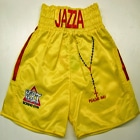 thomas hearns boxing shorts yellow jazza dickens ert liverpool custom made suzi wong creations boxfit boxxerworld