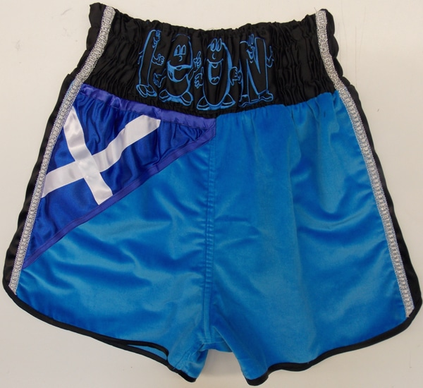 Ricky Burns vs Figueroa shorts back