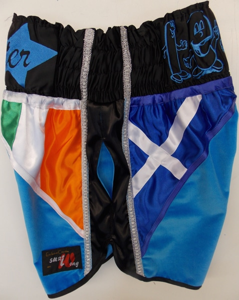 Ricky Burns vs Figueroa shorts side