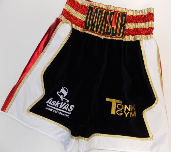 Davies Custom Boxing Kit front