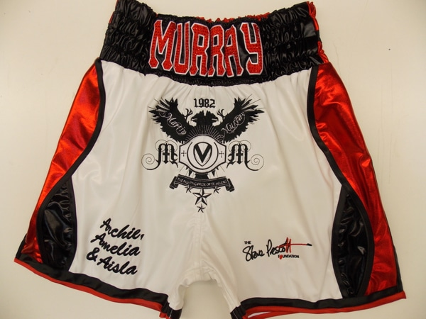 Martin Murray Boxing Trunks