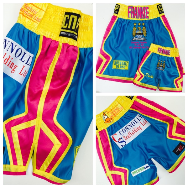 Terry Flanagan World Title Boxing Shorts