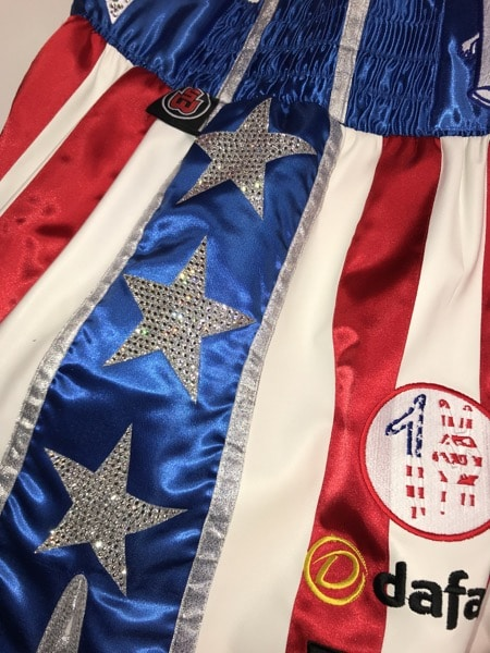 Stars and Stripes Boxing Shorts Side
