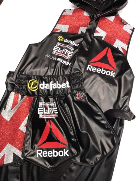 Conor Benn Boxing Shorts and Robe Union Jack