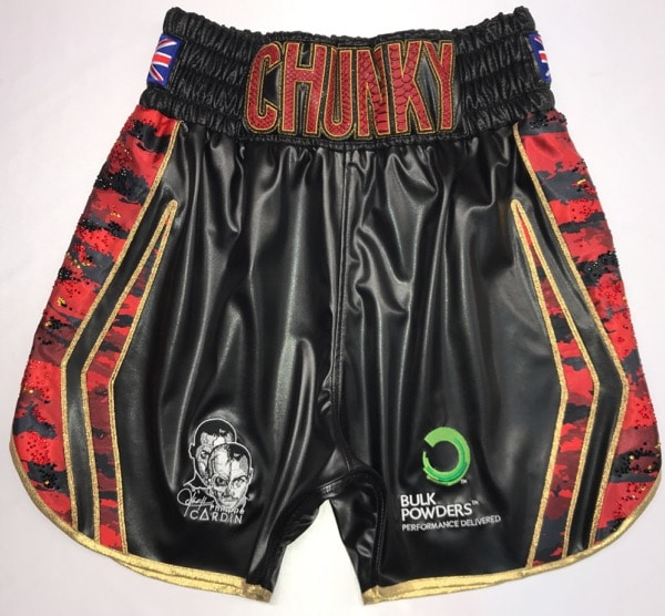 james degale camo boxing shorts and kit