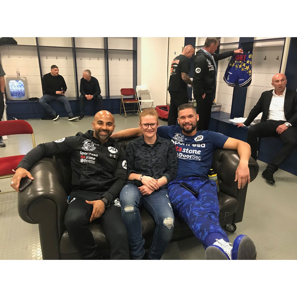 Tony Bellew and Dave Coldwell