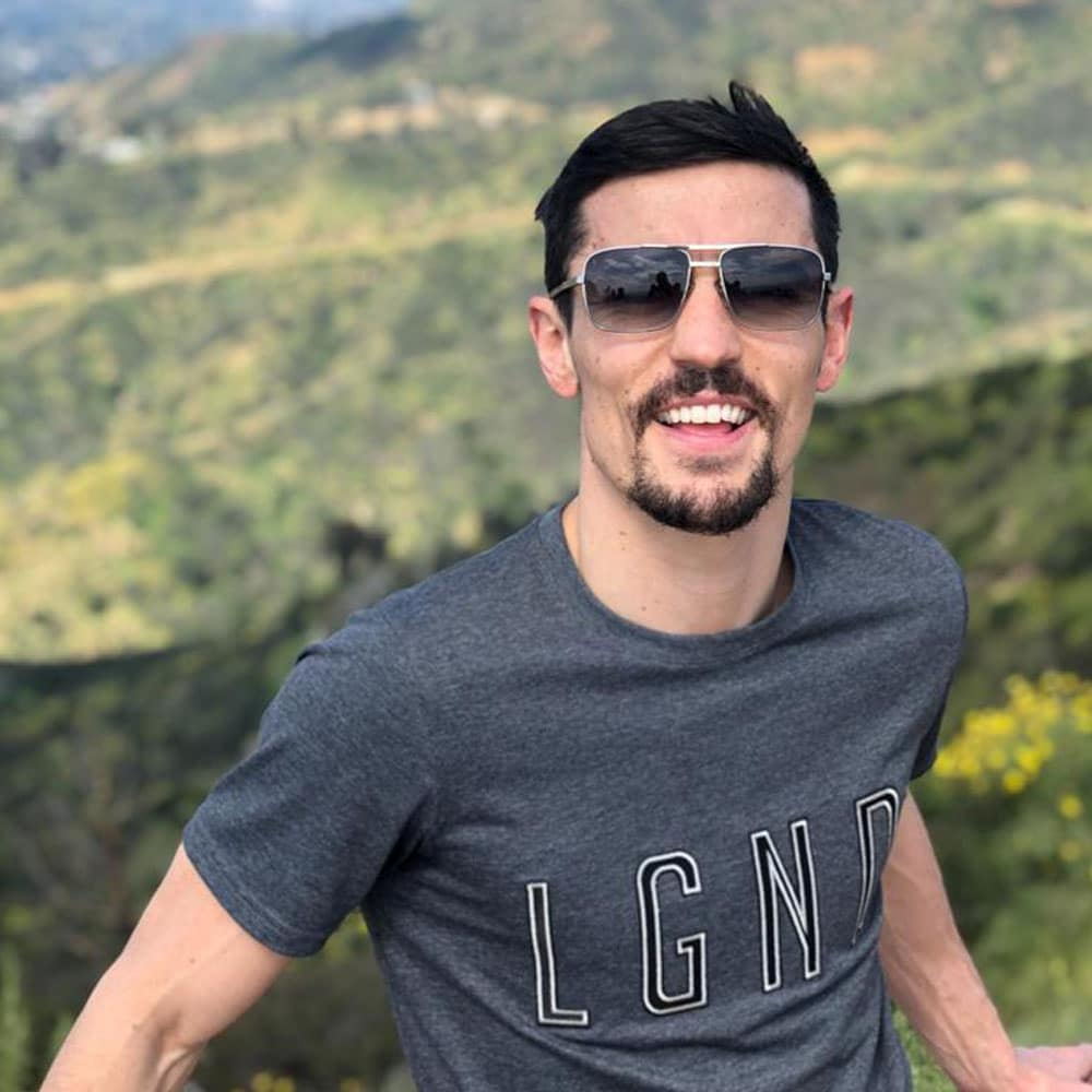 crolla in LA LGND Charcoal T-Shirt